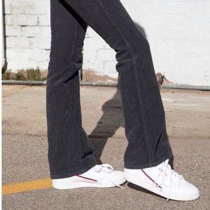Brandy Melville Navy Darlene Corduroy Flare pants